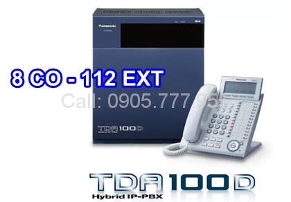 Tổng đài PANASONIC KX-TDA100D-8-112